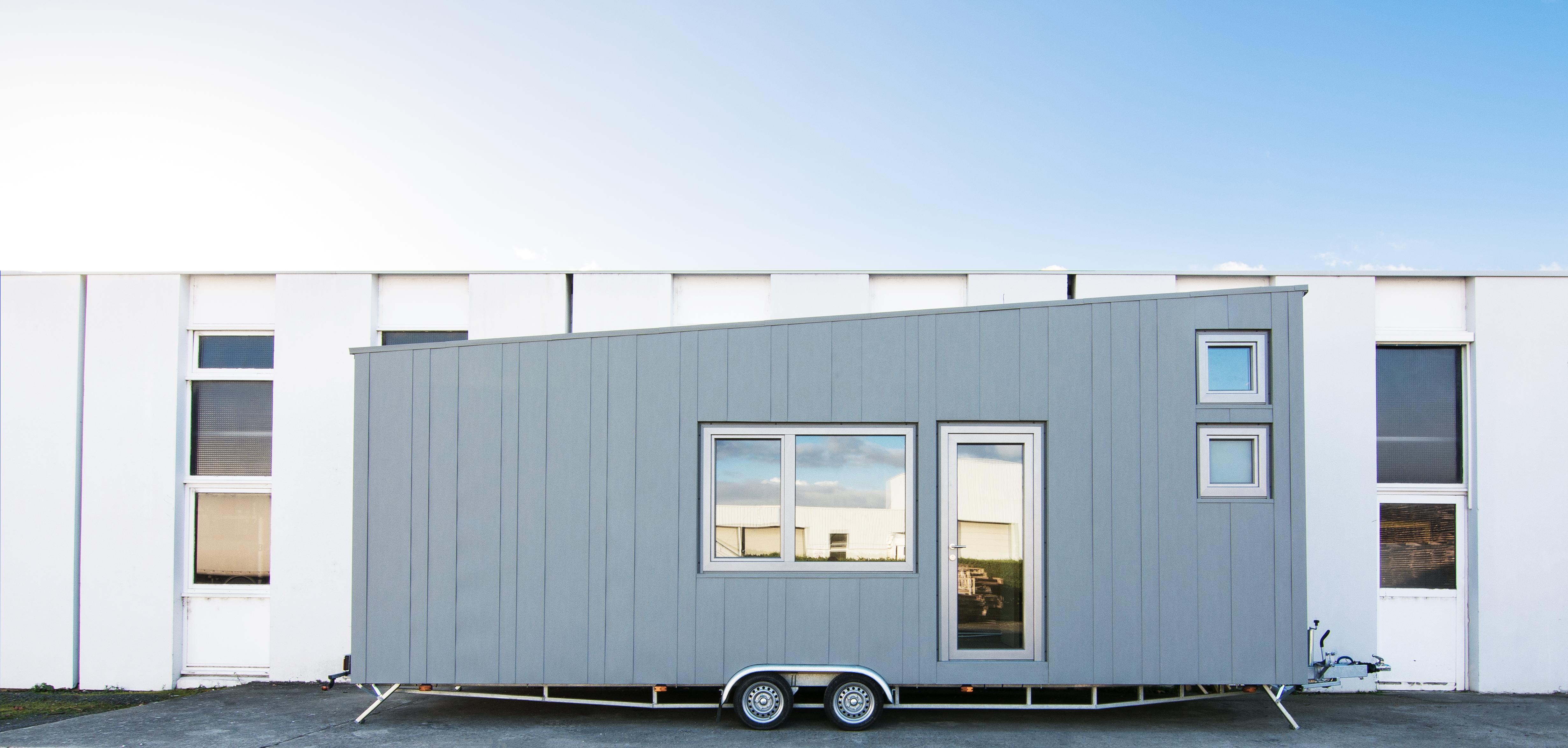 Tiny urbaine de 17m² + 3 couchages en mezzanine